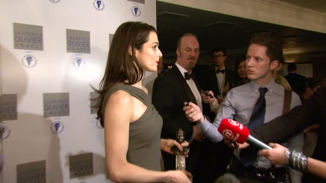 Rachel Weisz at the 2010 Laurence Olivier Awards at London England