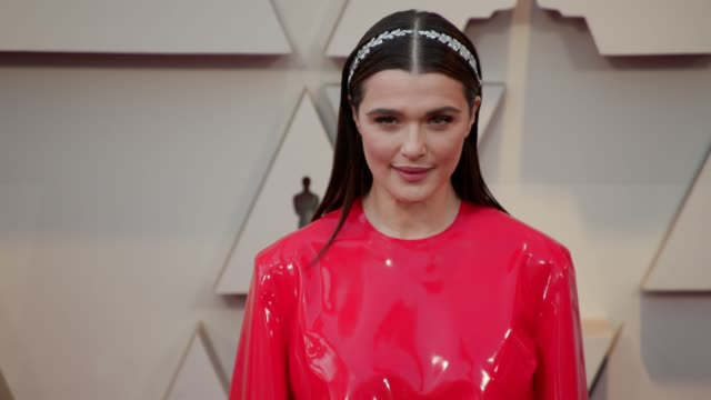 rachel weisz at the 91st academy awards arrivals at dolby theatre on february 24 2019 in hollywood california - rachel weisz stock videos & royalty-free footage