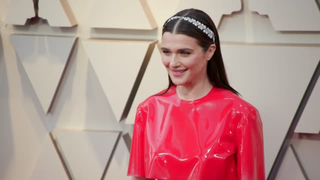 vídeos de stock e filmes b-roll de rachel weisz at the 91st academy awards arrivals at dolby theatre on february 24 2019 in hollywood california - cerimónia dos óscares