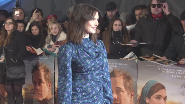 rachel weisz at 'the mercy' world premiere at the curzon mayfair on february 06 2018 in london england - rachel weisz stock videos & royalty-free footage