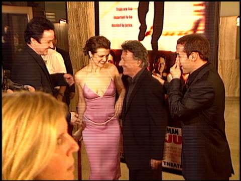 rachel weisz at the 'runaway jury' premiere at the cinerama dome at arclight cinemas in hollywood california on october 9 2003 - rachel weisz stock videos & royalty-free footage