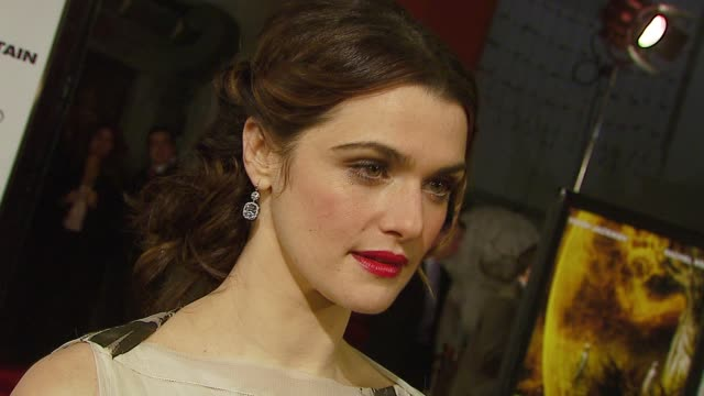rachel weisz at the warner brothers pictures' 'the fountain' us premiere at grauman's chinese theatre in hollywood california on november 12 2006 - rachel weisz stock videos & royalty-free footage