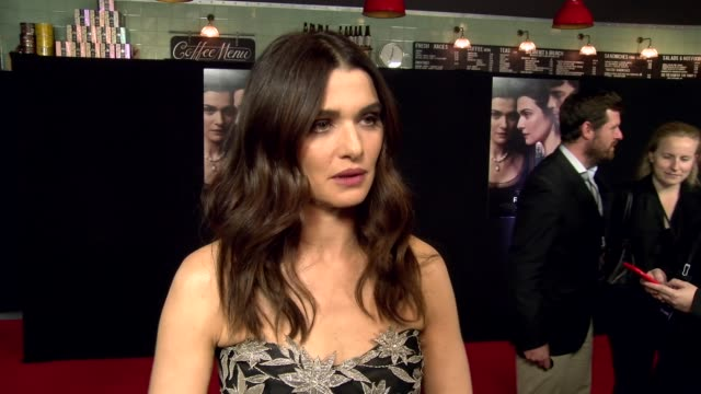 rachel weisz on interpreting the story prior thoughts the original book and the upcoming election at picturehouse central on june 07 2017 in london... - rachel weisz stock videos & royalty-free footage
