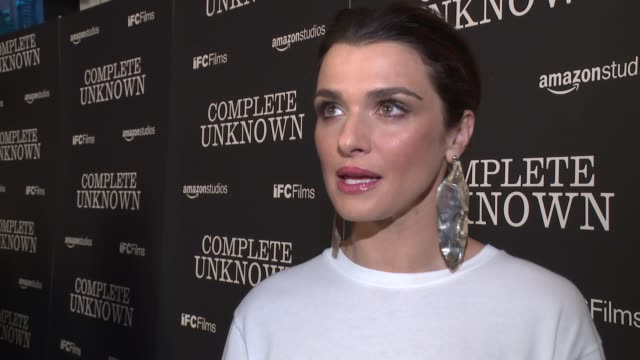 interview rachel weisz on shooting in ny and working with michael shannon at complete unknown new york premiere at metrograph on august 23 2016 in... - rachel weisz stock videos & royalty-free footage