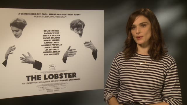 interview rachel weisz on the emotions at soho hotel on october 13 2015 in london england - rachel weisz stock videos & royalty-free footage