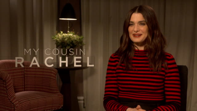 interview rachel weisz on what appealed to her about the story at 'my cousin rachel' interviews on june 7 2017 in london england - rachel weisz stock videos & royalty-free footage