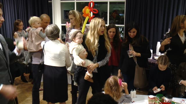 rachel zoe andrea dorigo at brooks brothers celebrates the holidays with st jude children's research hospital and town country in los angeles ca - st. jude children's research hospital stock videos and b-roll footage