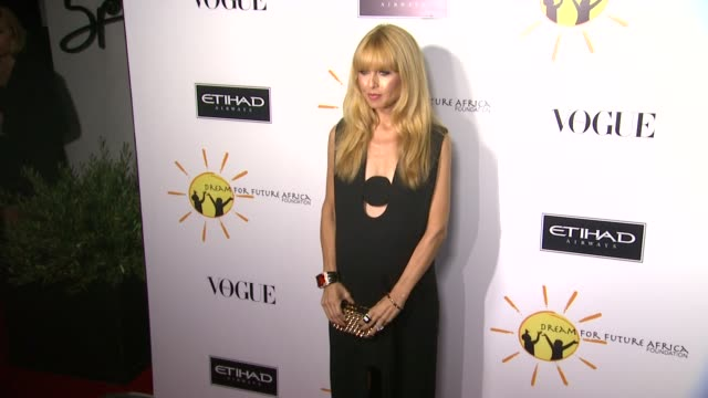 rachel zoe at gelila and wolfgang puck's dream for future africa foundation gala in beverly hills, ca, on . - ウォルフギャング パック点の映像素材/bロール