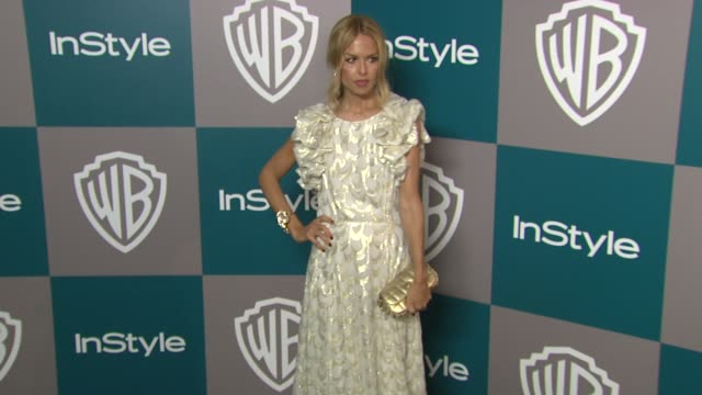 rachel zoe at the 13th annual warner bros and instyle golden globe afterparty in beverly hills ca on 1/15/12 - warner bros stock videos & royalty-free footage