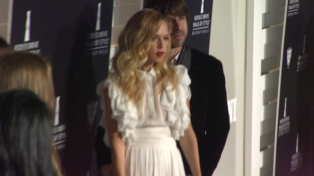 rachel zoe at the iman and missoni honored with rodeo drive walk of style at beverly hills ca - missoni stock videos & royalty-free footage