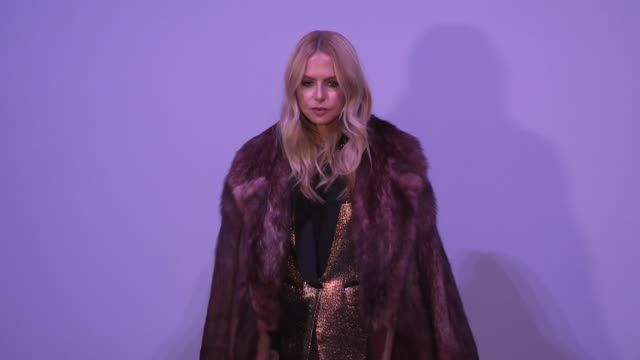 Rachel Zoe at the photocall of the Tom Ford ready to wear Fall Winter 2018 Fashion Show New York City NY USA on Thursday February 8 2018