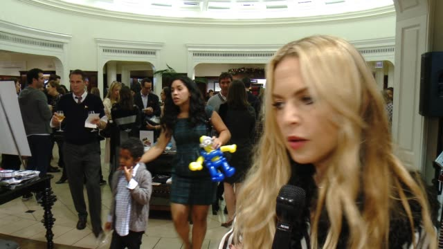 interview rachel zoe on st jude's the brooks brothers event and favorite holiday memory her family at brooks brothers celebrates the holidays with st... - st. jude children's research hospital stock videos and b-roll footage