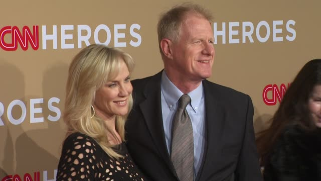 Rachelle Carson and Ed Begley Jr at the CNN Heroes An AllStar Tribute at Los Angeles CA