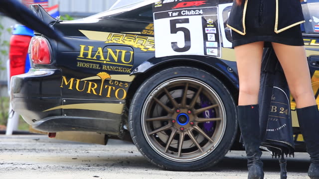 racing car starting the drift race - songkhla province stock videos and b-roll footage