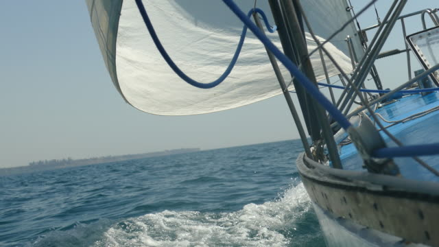 racing sailing yacht