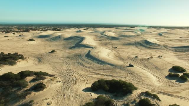 Racing through the desert