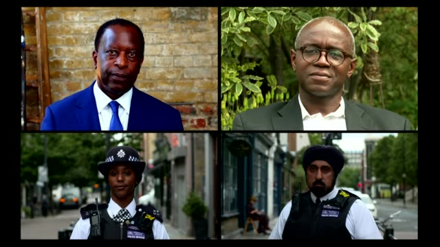 black asian and minority ethnic officers speak of their experiences in new survey montage michael fuller / tola munro / chief superintendent raj... - film montage stock videos & royalty-free footage