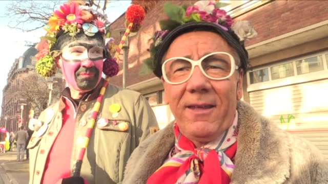 Racist tradition or freedom of expression A carnival was celebrated in the northern French port of Dunkirk featuring participants wearing black make...