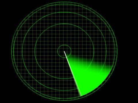 radar detecting a plane - radar stock videos and b-roll footage