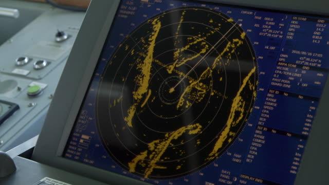 radar on ship - radar stock videos & royalty-free footage