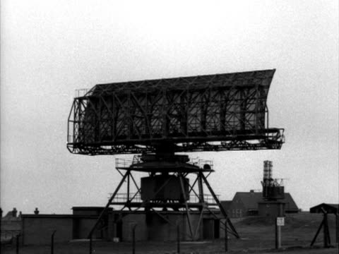 a radar scanning mast rotates - radar stock videos and b-roll footage
