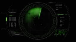 Radar Screen HUD Animation 4K