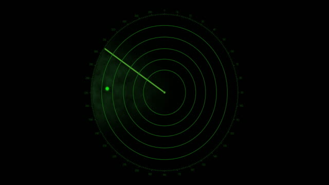 4k radar screen - loopable - radar stock videos & royalty-free footage
