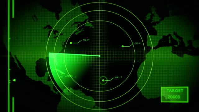 radar screen (loopable) - radar stock videos & royalty-free footage