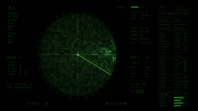 4k radar screen - radar stock videos & royalty-free footage