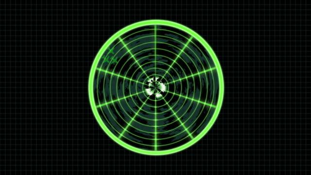 vídeos de stock e filmes b-roll de tela de radar com aeronaves - military