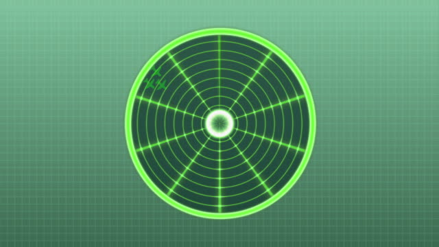 vídeos y material grabado en eventos de stock de pantalla de radar con detectado aviones - ejército