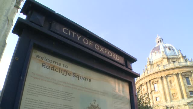 radcliffe camera building in oxford - english language stock videos & royalty-free footage