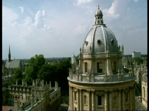 radcliffe camera, oxford - ms old domed building, brasenose college - radcliffe camera stock videos and b-roll footage