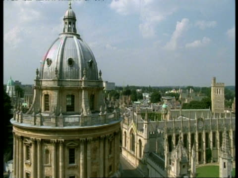 radcliffe camera, oxford - old domed building, hereford college - radcliffe camera stock videos and b-roll footage