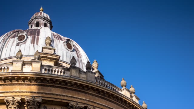 radcliffe camera, oxford - timelapse - ornate stock videos and b-roll footage