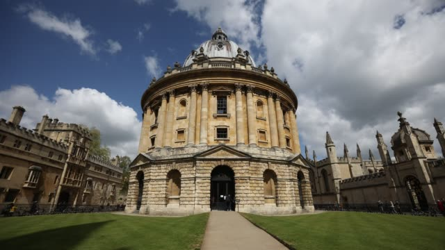 radcliffe camera oxford uk - oxford university stock videos & royalty-free footage
