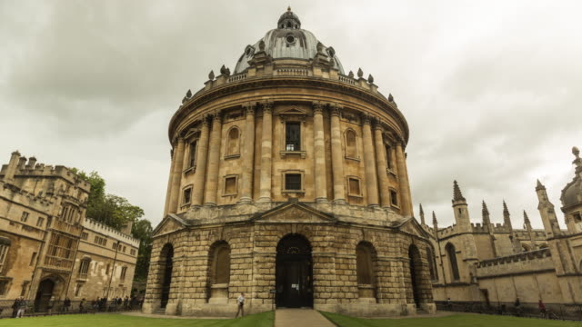 radcliffe camera, oxford, uk - radcliffe camera stock videos and b-roll footage