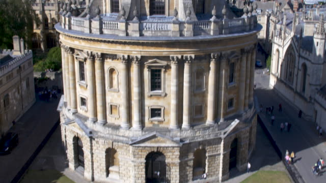 radcliffe camera. oxford university. - radcliffe camera stock videos and b-roll footage