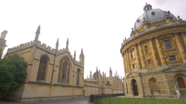 radcliffe camera,oxford,pan - radcliffe camera stock videos and b-roll footage