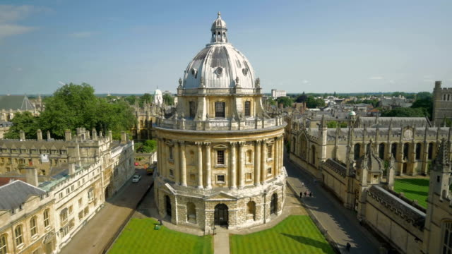 radcliffe camera,oxford,ha,ws - radcliffe camera stock videos and b-roll footage