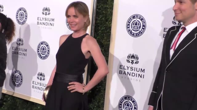 Radha Mitchell and Cameron Silver at The Art of Elysium Presents Stevie Wonder's HEAVEN Celebrating the 10th Anniversary at Red Studios on January 07...
