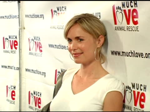 Radha Mitchell at the 4th Annual Much Love Animal Rescue Celebrity Comedy Benefit at the Laugh Factory in Hollywood California on August 10 2005
