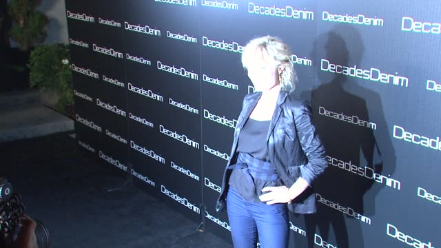 Radha Mitchell at the Decades Denim Launch Party at Beverly Hills CA