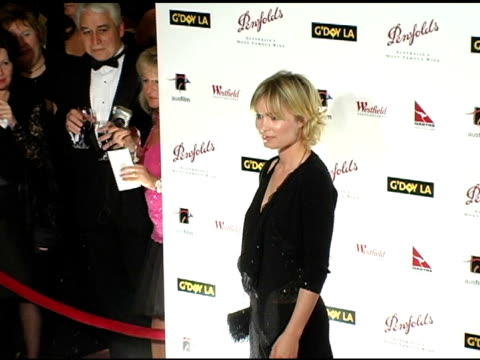 Radha Mitchell at the G'Day LA Penfolds Black Tie Gala Dinner at the Century Plaza Hotel in Century City California on January 15 2005