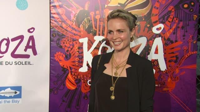 Radha Mitchell at the KOOZA Opening Night Gala To Benefit The One Drop Foundation Heal The Bay at Santa Monica CA