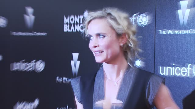 Radha Mitchell at the Montblanc Charity Cocktail hosted by The Weinstein Company to benefit UNICEF at Soho House at West Hollywood CA