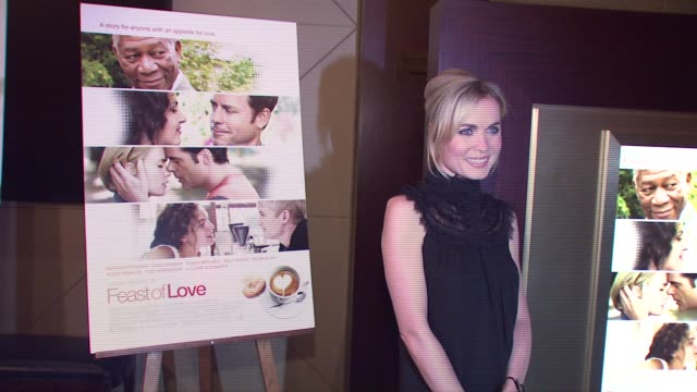 Radha Mitchell at the New York screening of 'Feast of Love' at Dolby 88 Screening Room in New York New York on September 17 2007