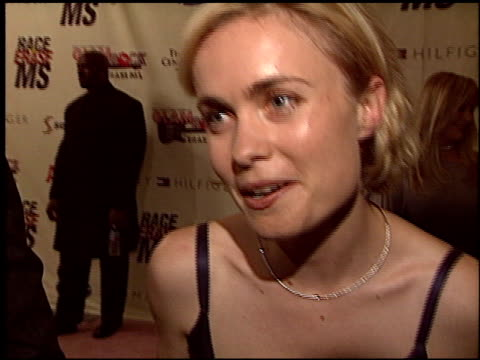 vídeos y material grabado en eventos de stock de radha mitchell at the race to erase at the century plaza hotel in century city, california on may 14, 2004. - race to erase ms