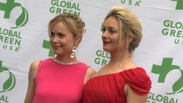 Radha Mitchell Elisabeth Rohm at Global Green USA's Annual Millennium Awards on 6/8/13 in Los Angeles CA