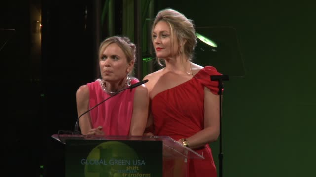 SPEECH Radha Mitchell Elisabeth Rohm at Global Green USA's Annual Millennium Awards on 6/8/13 in Los Angeles CA